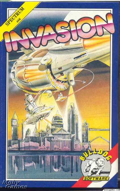 ZX Spectrum Games - Invasion