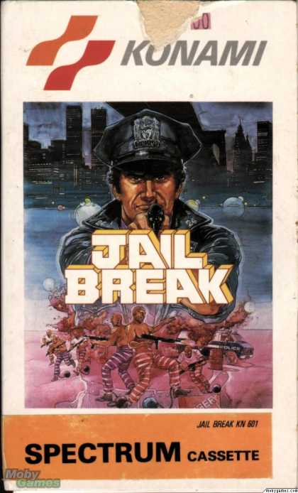 ZX Spectrum Games - Jail Break