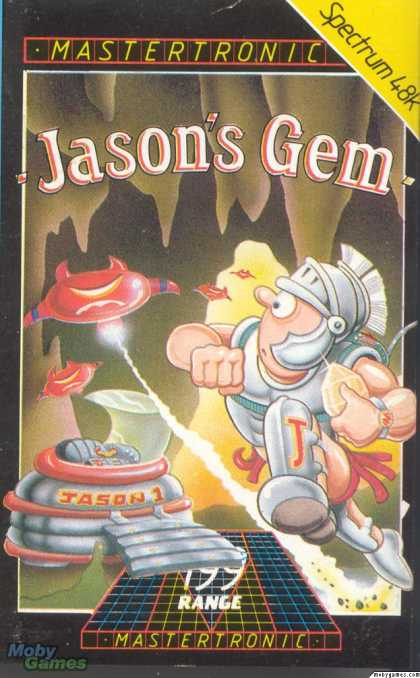 ZX Spectrum Games - Jason's Gem