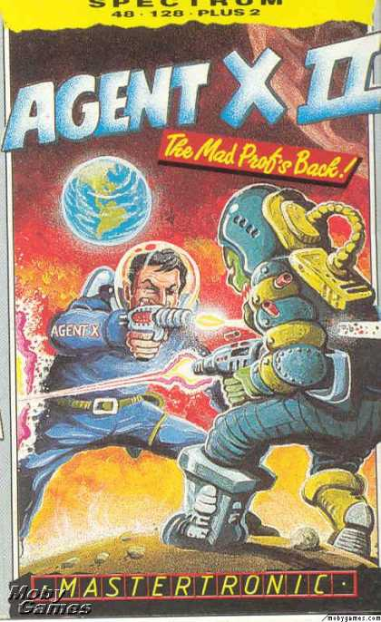 ZX Spectrum Games - Agent X II: The Mad Prof's Back!