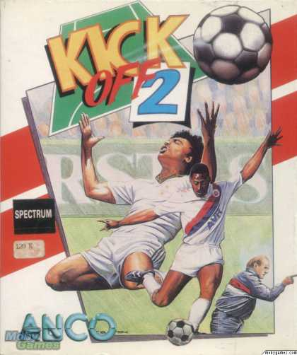 ZX Spectrum Games - Kick Off 2
