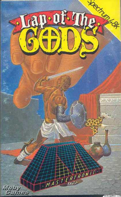 ZX Spectrum Games - Lap of the Gods