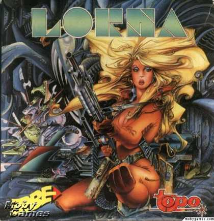 ZX Spectrum Games - Lorna