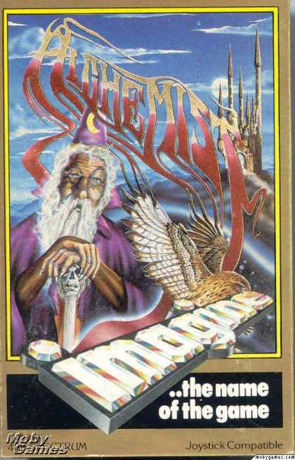 ZX Spectrum Games - Alchemist