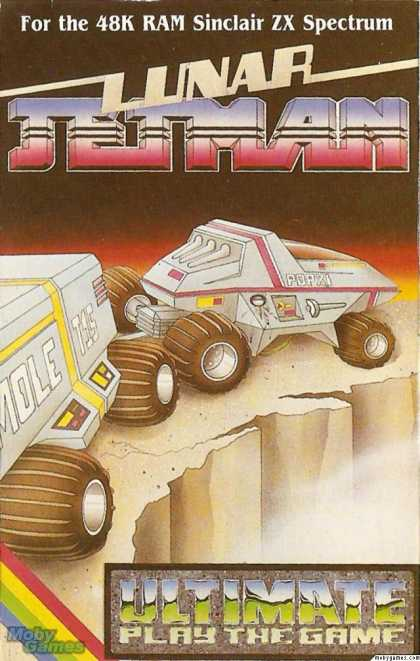ZX Spectrum Games - Lunar Jetman