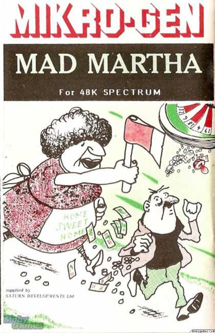 ZX Spectrum Games - Mad Martha