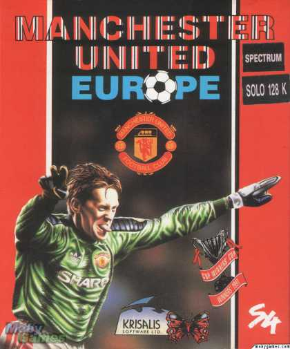ZX Spectrum Games - Manchester United Europe