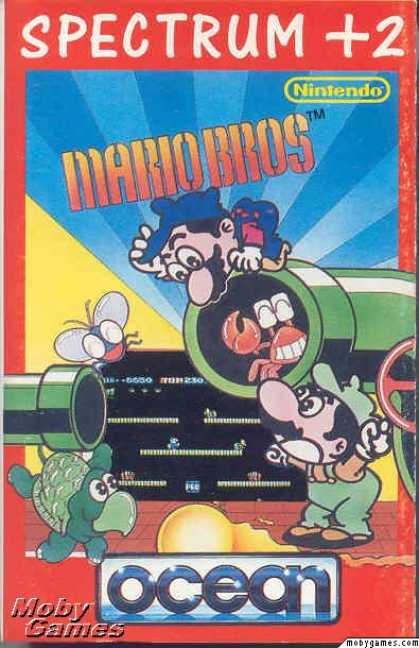 ZX Spectrum Games - Mario Bros.