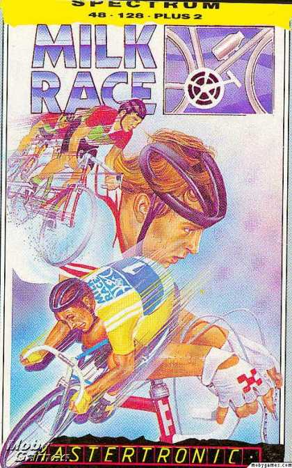 ZX Spectrum Games - Milk Race