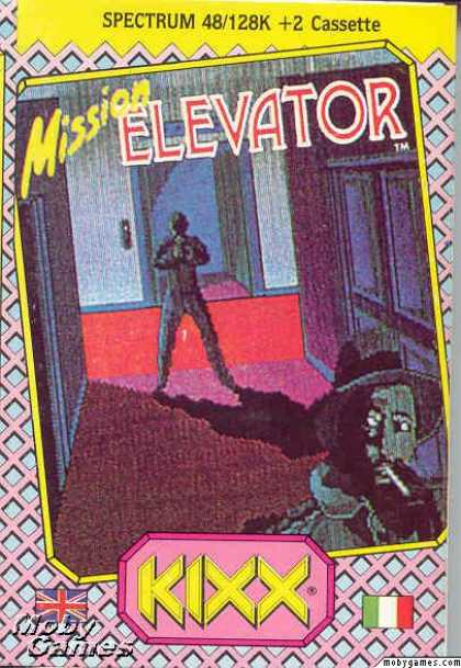 ZX Spectrum Games - Mission Elevator