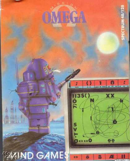 ZX Spectrum Games - Mission Omega