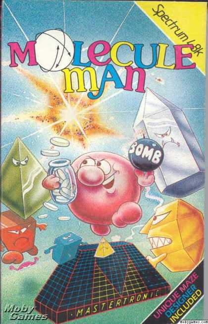 ZX Spectrum Games - Molecule Man