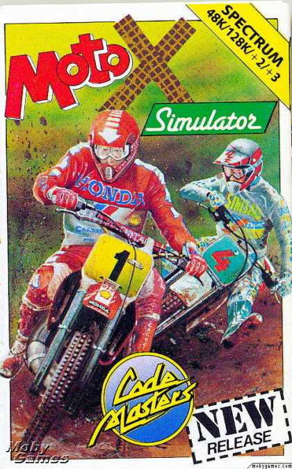 ZX Spectrum Games - Moto X Simulator