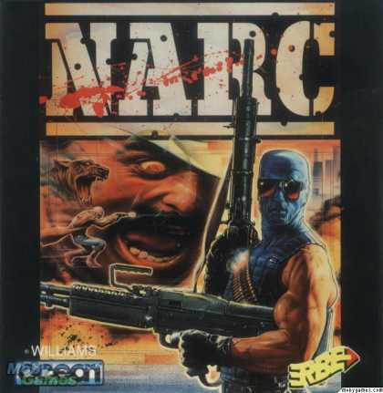 ZX Spectrum Games - NARC