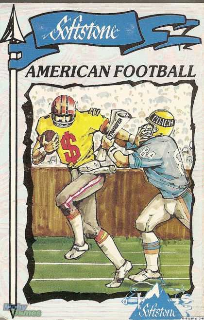 ZX Spectrum Games - American Football