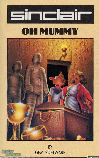 ZX Spectrum Games - Oh Mummy