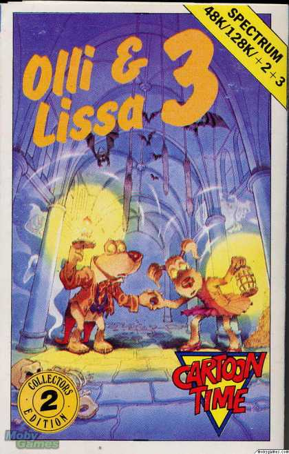 ZX Spectrum Games - Olli & Lissa 3: The Candlelight Adventure