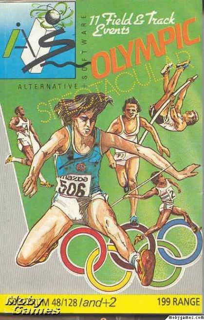 ZX Spectrum Games - Olympic Spectacular