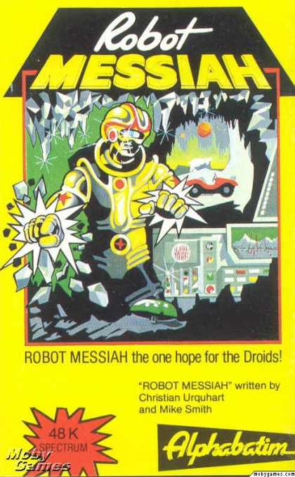 ZX Spectrum Games - Robot Messiah