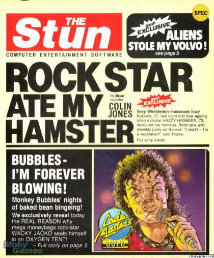 ZX Spectrum Games - Rock Star Ate My Hamster