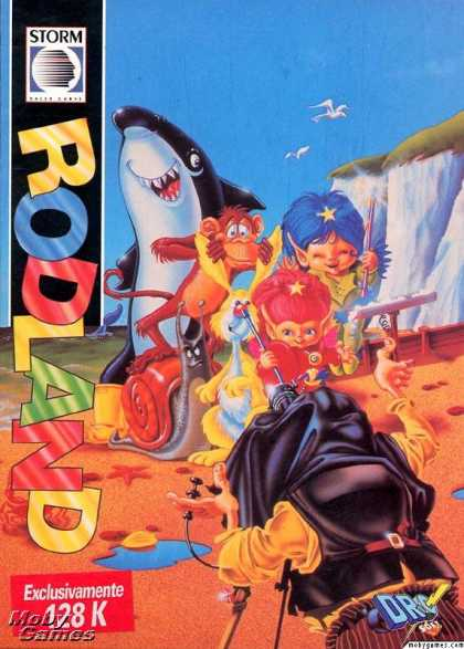 ZX Spectrum Games - Rodland