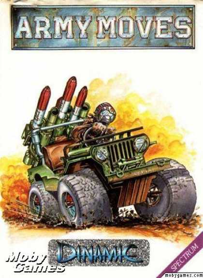 ZX Spectrum Games - Army Moves