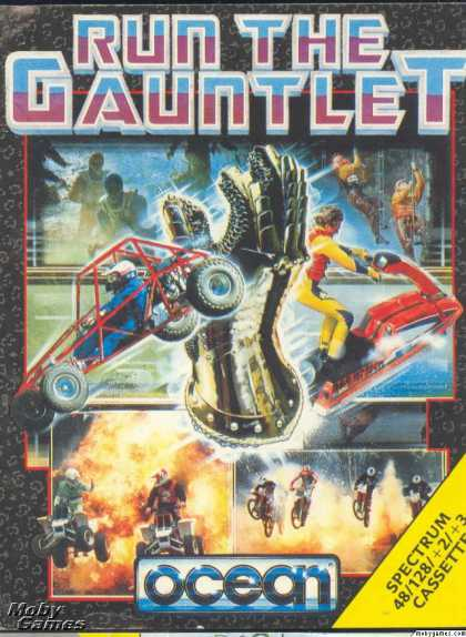 ZX Spectrum Games - Run the Gauntlet