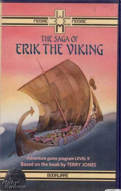 ZX Spectrum Games - The Saga of Erik the Viking