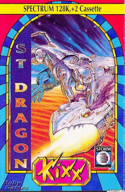 ZX Spectrum Games - Saint Dragon