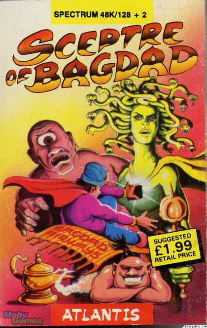 ZX Spectrum Games - Sceptre of Bagdad