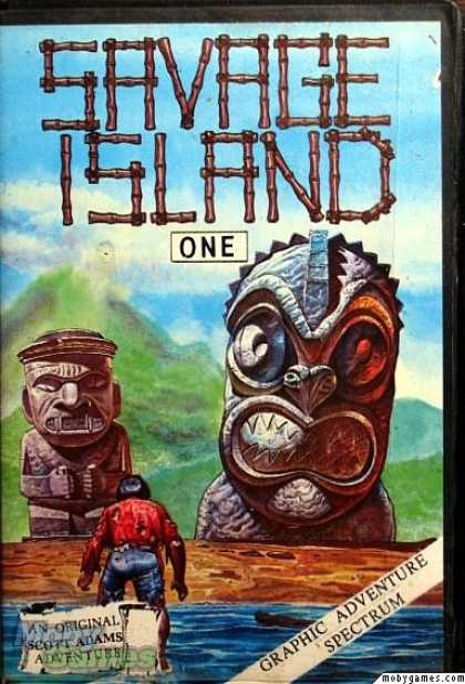 ZX Spectrum Games - Scott Adams' Graphic Adventure #10: Savage Island Part One
