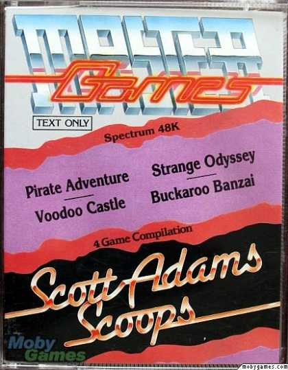 ZX Spectrum Games - Scott Adams Scoops