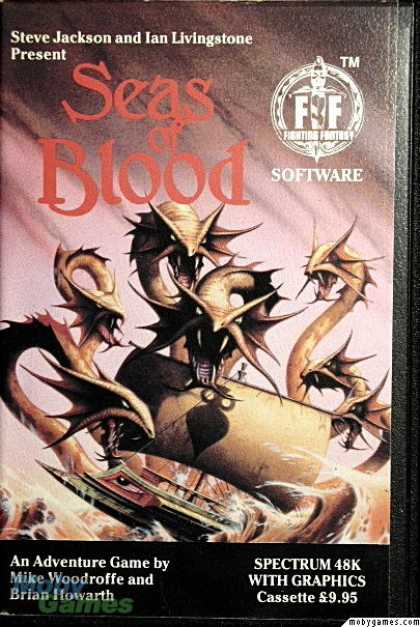 ZX Spectrum Games - Seas of Blood