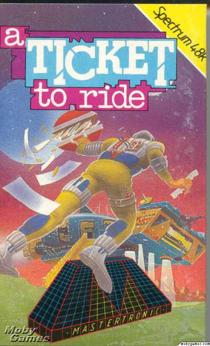ZX Spectrum Games - A Ticket to Ride
