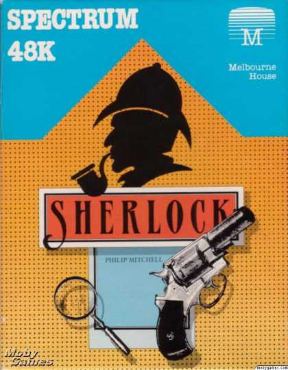 ZX Spectrum Games - Sherlock