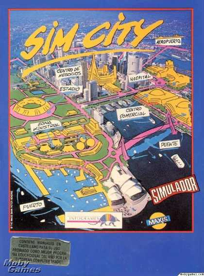ZX Spectrum Games - SimCity