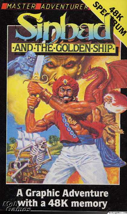 ZX Spectrum Games - Sinbad & the Golden Ship