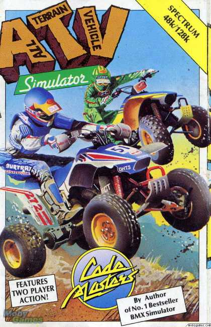 ZX Spectrum Games - ATV Simulator