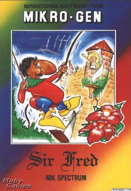 ZX Spectrum Games - Sir Fred