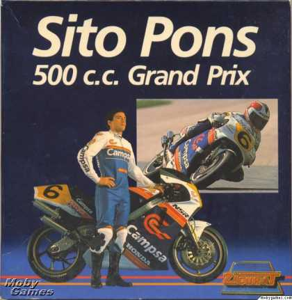 ZX Spectrum Games - Sito Pons 500cc Grand Prix