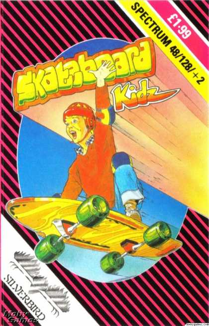 ZX Spectrum Games - Skateboard Kidz