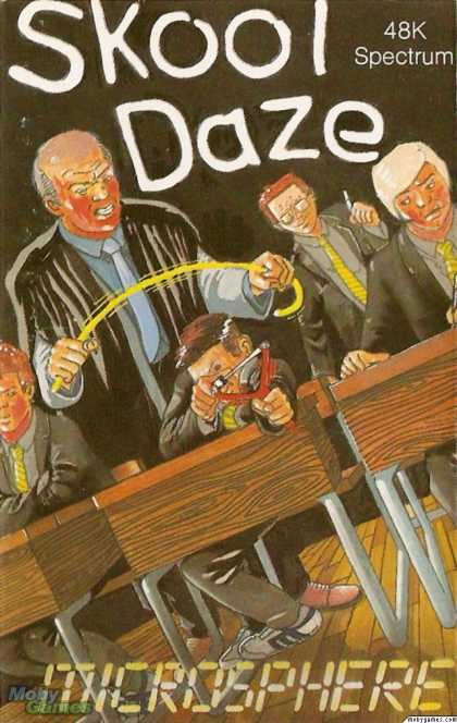 ZX Spectrum Games - Skool Daze