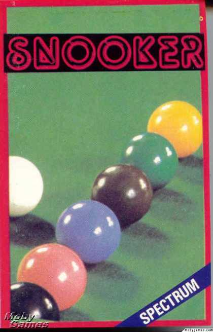 ZX Spectrum Games - Snooker