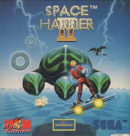 ZX Spectrum Games - Space Harrier II