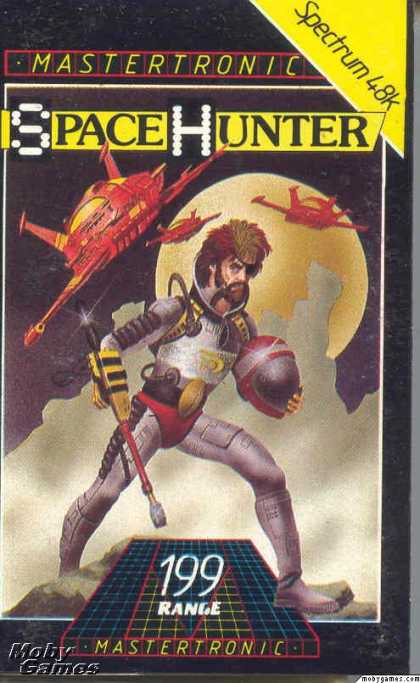 ZX Spectrum Games - Space Hunter