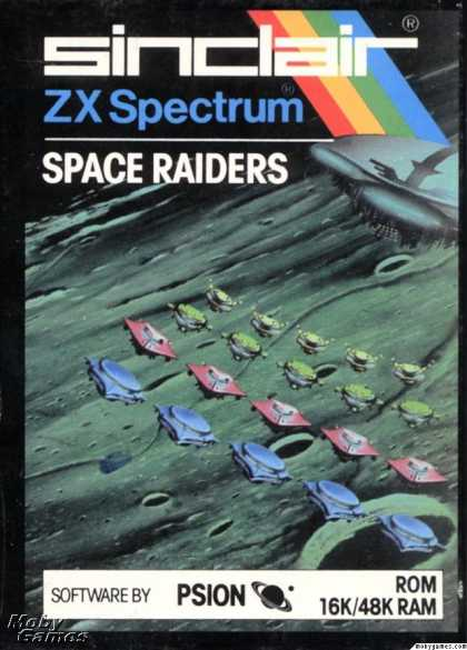 ZX Spectrum Games - Space Raiders