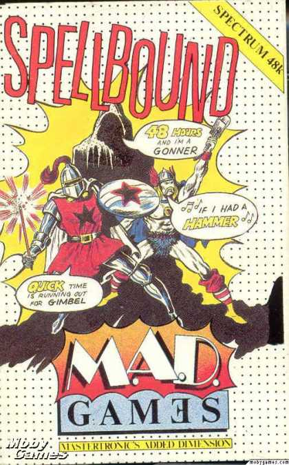 ZX Spectrum Games - Spellbound