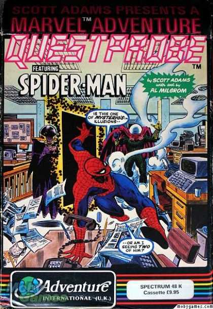 ZX Spectrum Games - Spider-Man