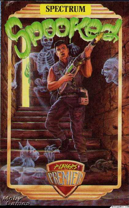 ZX Spectrum Games - Spooked