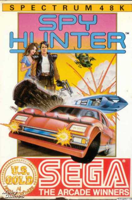ZX Spectrum Games - Spy Hunter